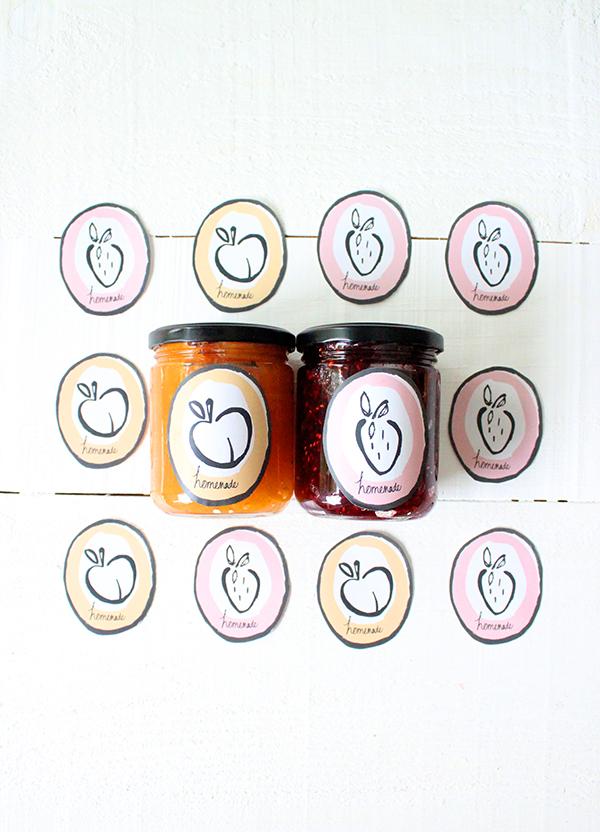 Free Printable Jam Labels Babasouk